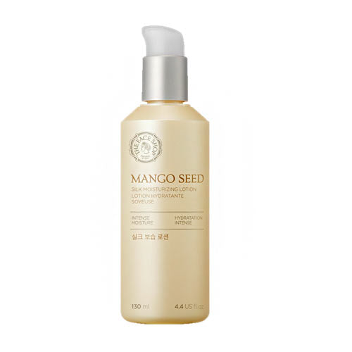The Face Shop Mango Seed Silk Moisturizing Lotion 130ml - Kim's Korean Beauty, LLC