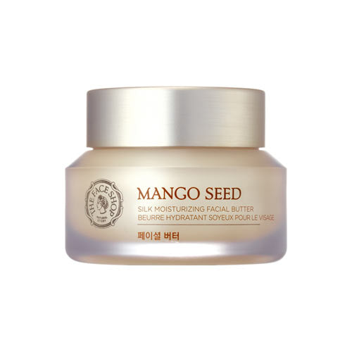 The Face Shop Mango Seed Silk Moisturizing Facial Butter - Kim's Korean Beauty, LLC