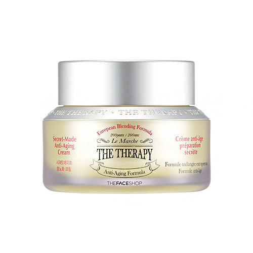 The Face Shop  The Therapy Secret Made Anti Aging Cream 50ml - Kim's Korean Beauty, LLC