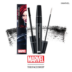The Face Shop  2 in 1 Curling Mascara (Marvel Edition) 8.5g #01 Deep Black - Kim's Korean Beauty, LLC