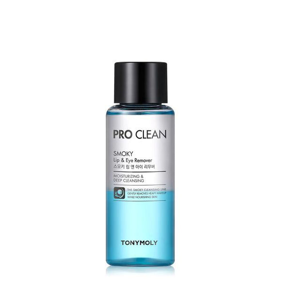 Tony Moly Pro Clean Smoky Lip and Eye Remover - Kim's Korean Beauty, LLC
