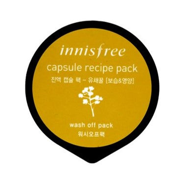 Innisfree Capsule Recipe Pack #Canola Honey (Washoff Pack)