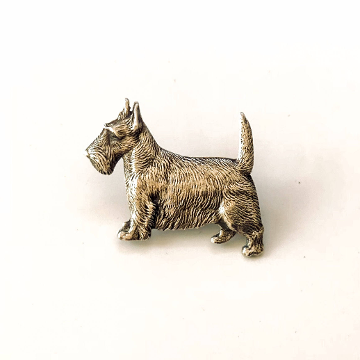 Scottish Terrier Brooch