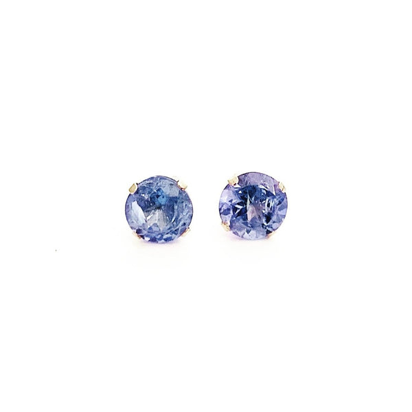 10ct Gold & Tanzanite Earrings