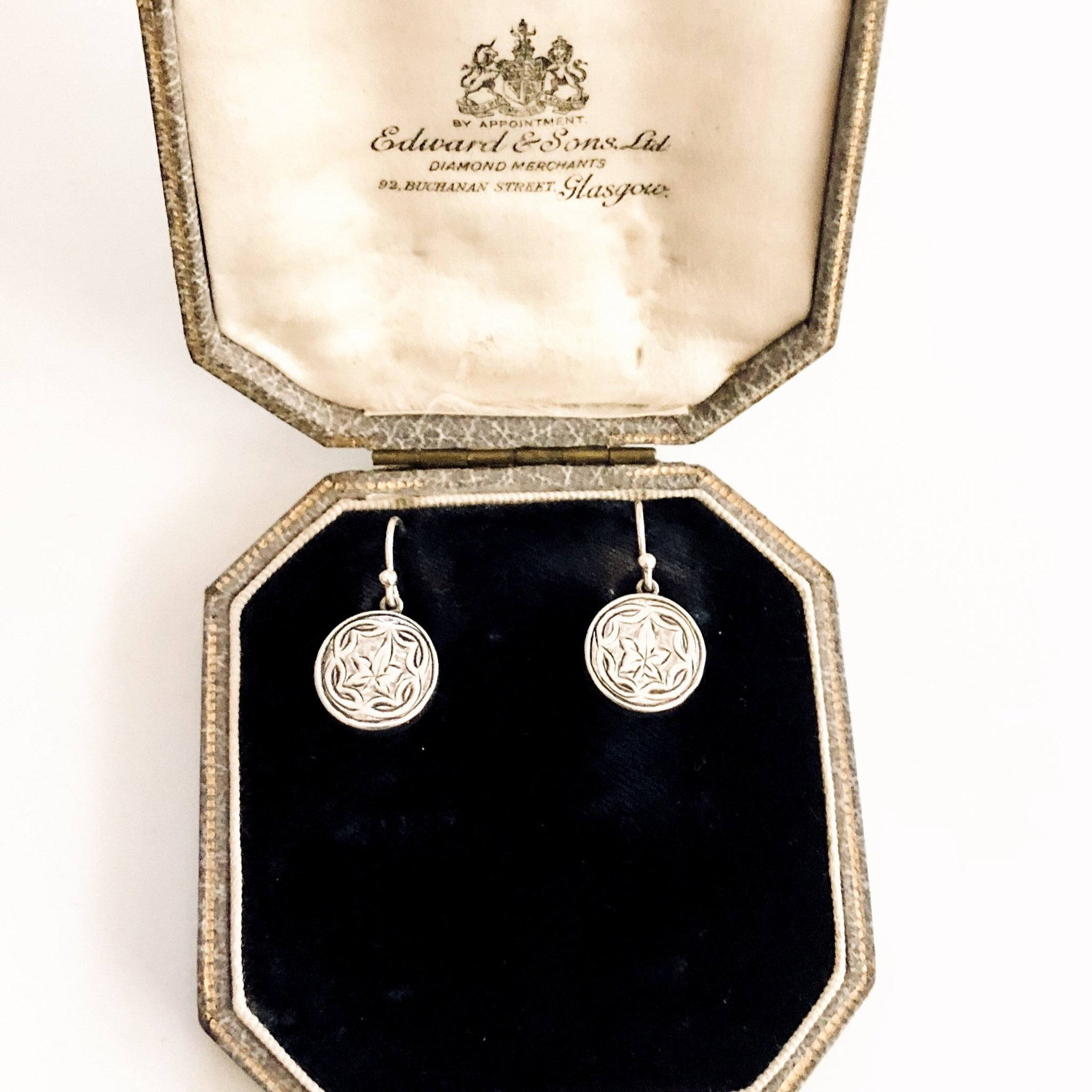 Victorian Silver Earrings