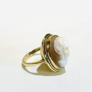 9ct Gold Cameo Ring