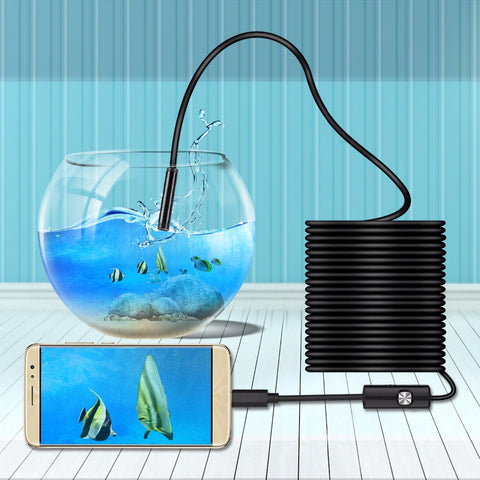 USB Endoscope for Tight Spaces