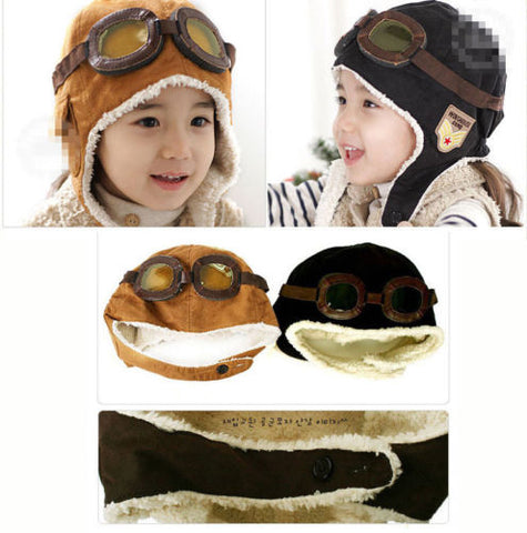 Toddler Pilot / Aviator Hat