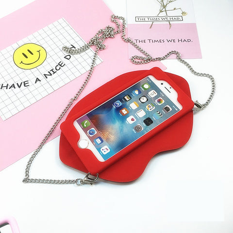Kissable Lips iPhone Case