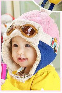 Pilot / Aviator / Bomber Hat For Kids / Toddlers / Babies / Infants