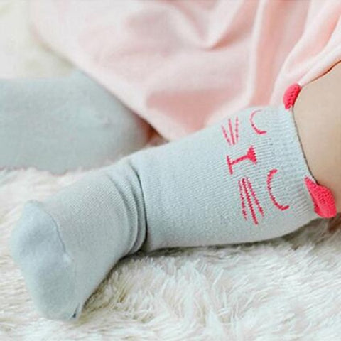Long Socks For Kids With Different Designs