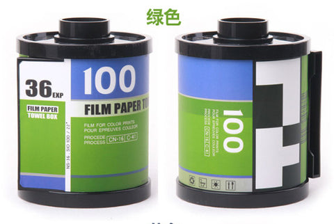 Film Container Design Tissue Case/Container