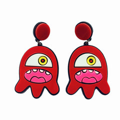One-Eyed Alien Earrings