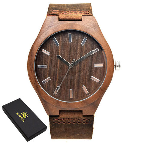 Sihaixin Classic Wood Watch