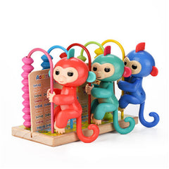 Vertical Gym Playset for Monkey Finger Toys