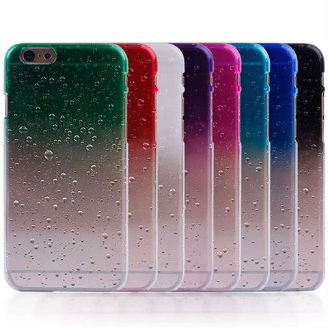 Ultra Thin Water Drops Design iPhone Case
