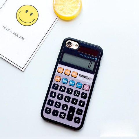 Calculator Design iPhone Case