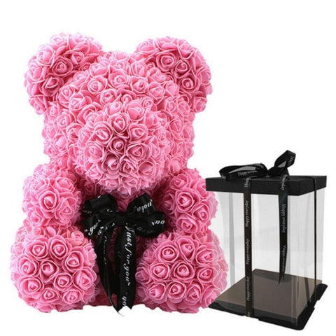 The Rose Bear - 10 inches