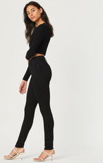 MAVI: Scarlett Double Black Super Soft Super High Rise Skinny