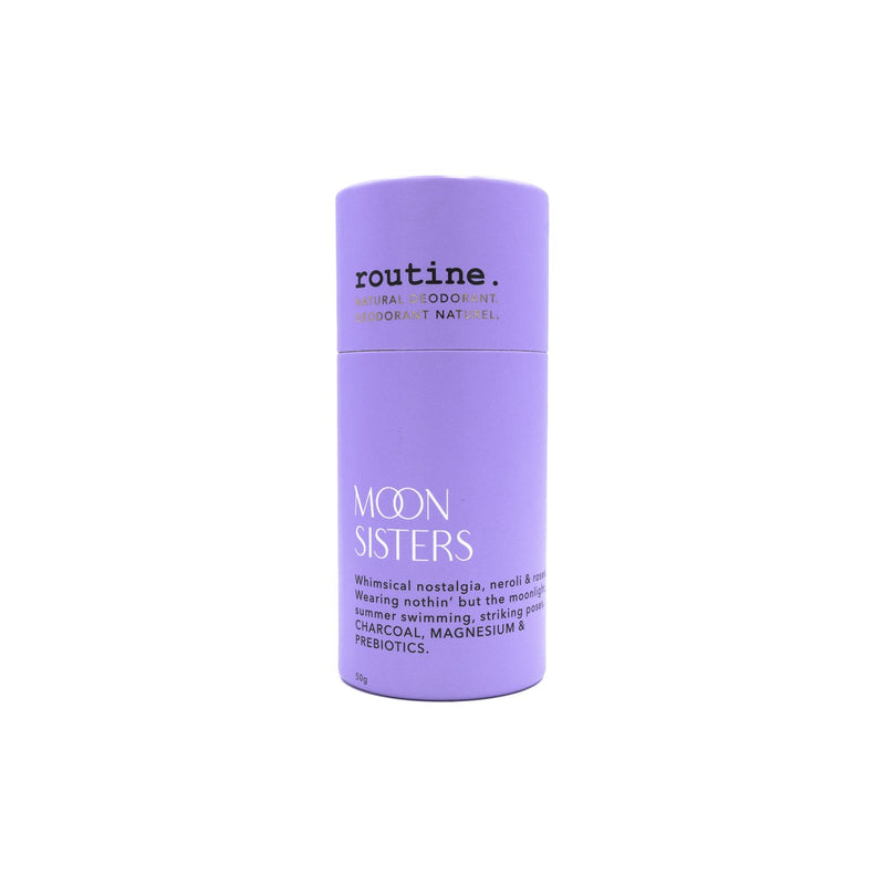 -* routine:  DEODRANT STICKS MOON SISTERS
