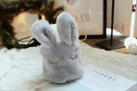 Aeruiy Lamb/Bunny Hanging Round Tissue Box Cover Toilet Paper Holder