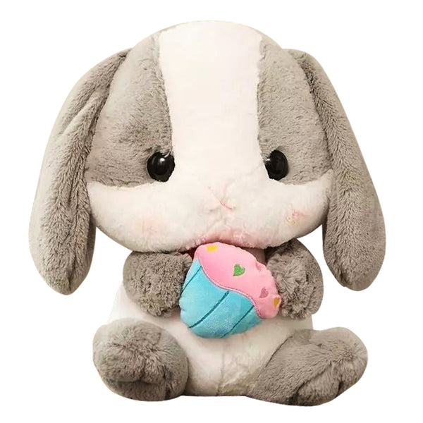 Aeruiy Plush Bunny bamboo charcoal package toy doll 7.8