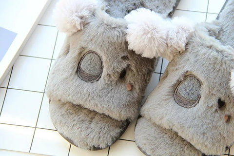 Aeruiy Reindeer/Elk/Koala/Rabbit Womens Cozy Home Indoor Slippers