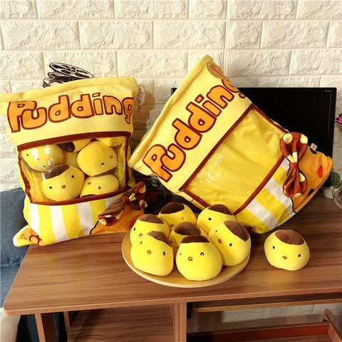 Aeruiy Pudding Chickens Toys Pocket  40x50cm