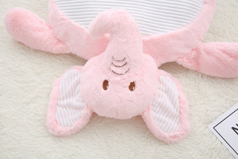 Aeruiy Soft Plush Animals Series Baby Mat Belly Blanket