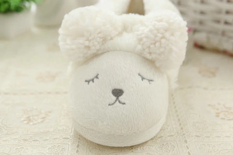 Aeruiy Cozy Sheep Womens Mens Home Indoor Mute Slippers