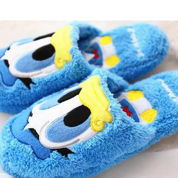 Aeruiy Cartoon Series Women Plush Home Indoor Slippers