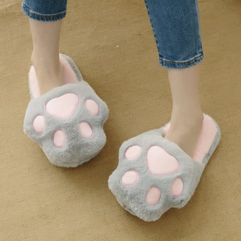 Aeruiy Cozy Big Claw Womens Home Indoor Slippers