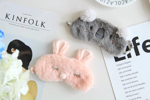 Aeruiy Cozy Koala / Bunny Eye Sleep Mask