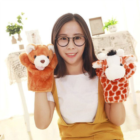 "Aeruiy Plush Animals Hand Puppets Toy doll  9.8""(25cm)"