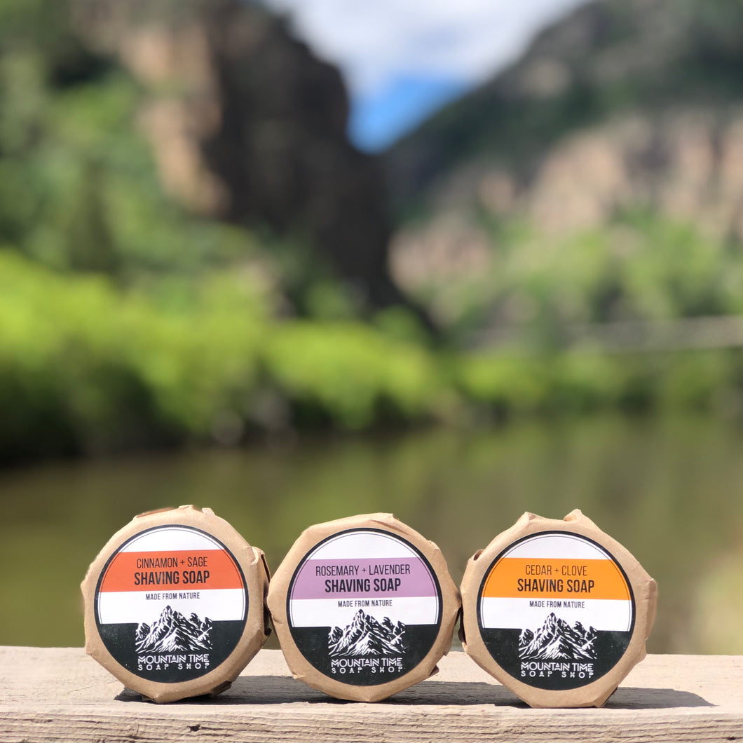 Shaving Soap Trio