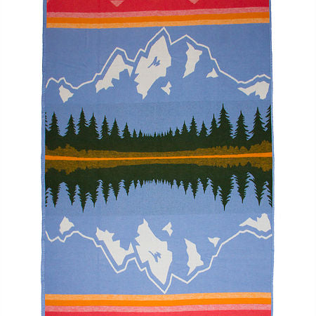 The Grand Teton Winter Weight Blanket