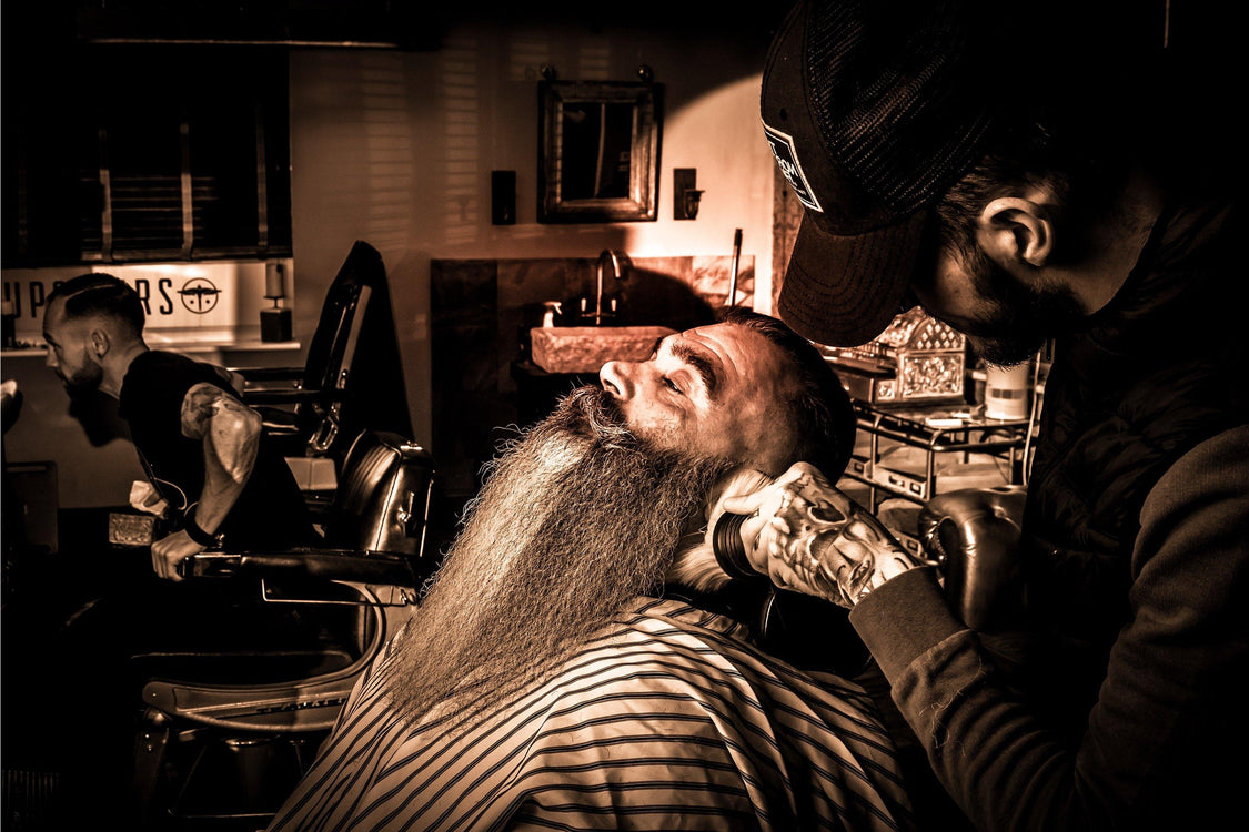 MEAN BEARD Co. - best beard products on the market for barbershops, barbers, and people who want to grow a MEAN BEARD.
