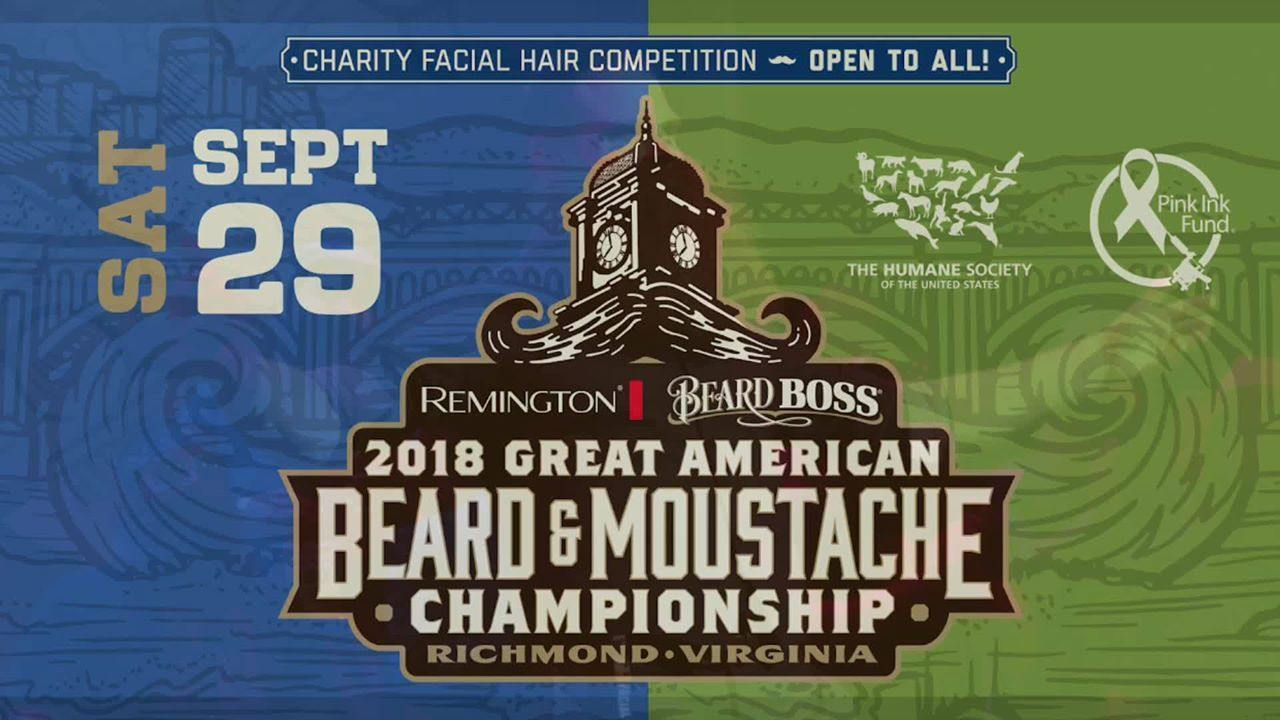 2018 Great American Beard and Moustache Championship - MEAN TEAM in it to win it!
