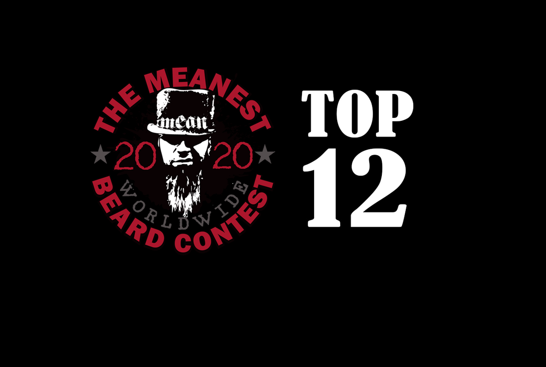 TOP 12 - The 2020 MEANest BEARD Worldwide Contest by MEAN BEARD