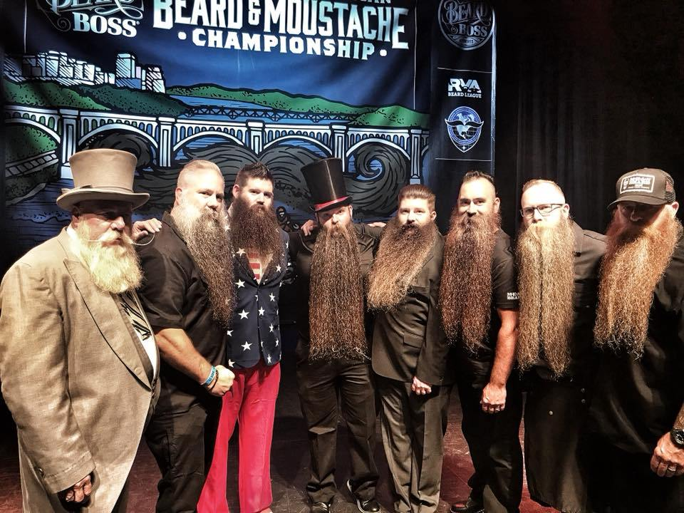 MEAN BEARD MEAN TEAM at 2018 GABMC