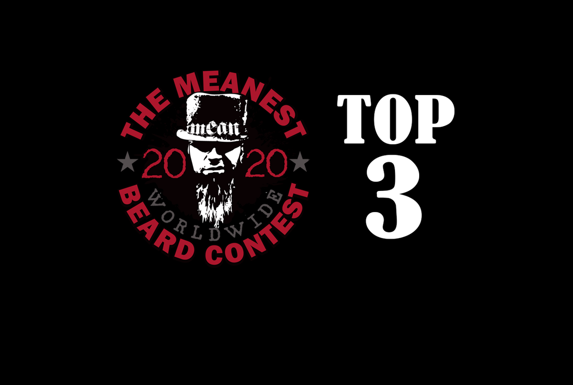 TOP 3 MEANest BEARD - 2020 MEANest BEARD Worldwide Contest by MEAN BEARD best beards long beards full beards
