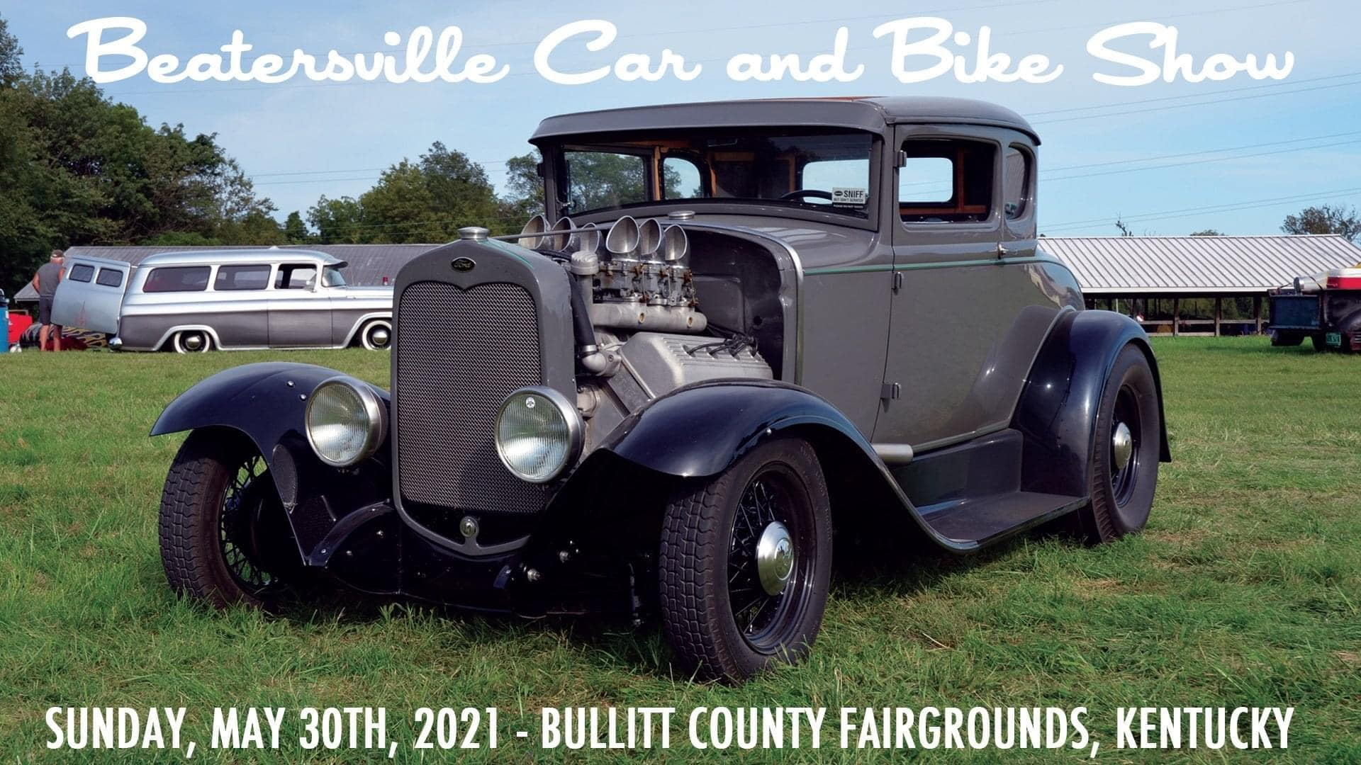 Beatersville Car & Bike Show 2021 MEAN BEARD will be there!