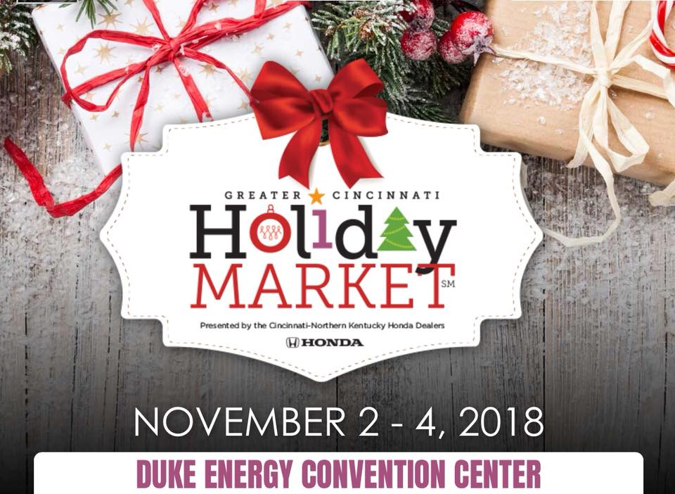 Join MEAN BEARD and shop 350+ unique speciality shops at the Greater Cincinnati Holiday Market November 2-4, 2018.