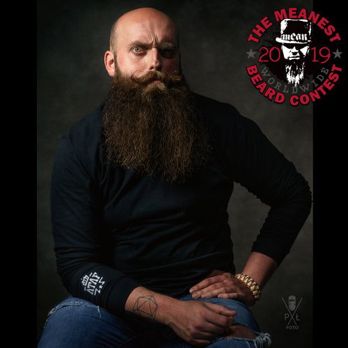 Contestants 1 to 8 in the 2019 MEANest BEARD Worldwide Contest