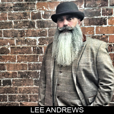 Lee Andrews, beard champion & sponsored ambassador MEAN BEARD Co. Stand with Purpose. Grow a MEAN BEARD. An exceptional beard care line offering the World's MEANest Beard Oil, Beard Balm and one of a kind Beard Enhancer MEAN WHIP. Join the MEAN BEARD Community and Ambassador Program.  Follow us on Instagram. Use #MEANBEARD to be featured.