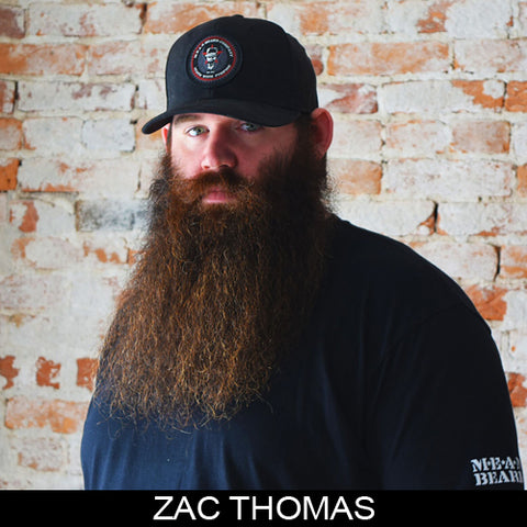 Zac Thomas, sponsored ambassador MEAN BEARD Co. Stand with Purpose. Grow a MEAN BEARD. An exceptional beard care line offering the World's MEANest Beard Oil, Beard Balm and one of a kind Beard Enhancer MEAN WHIP. Join the MEAN BEARD Community and Ambassador Program.  Follow us on Instagram. Use #MEANBEARD to be featured.