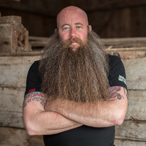 Judge Gerry Spiller 2019 MEANest BEARD Worldwide Contest by MEAN BEARD