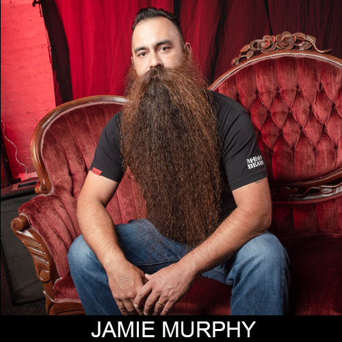 Jamie Murphy, Sponsored MEAN BEARD Ambassador and the 2017 MEANest BEARD Champion.  MEAN BEARD Co.