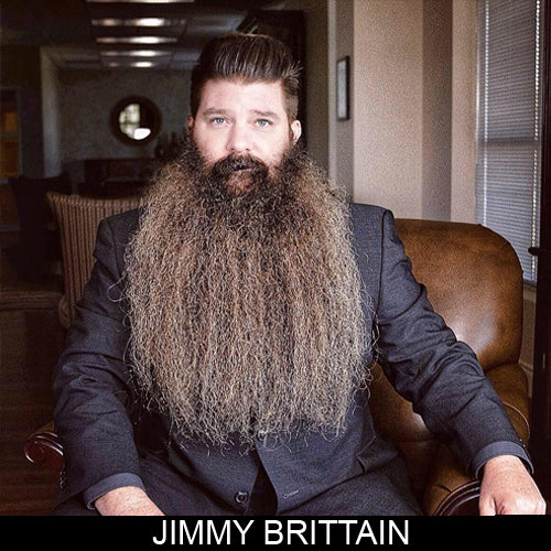 Jimmy Brittain, sponsored ambassador MEAN BEARD Co. Stand with Purpose. Grow a MEAN BEARD. An exceptional beard care line offering the World's MEANest Beard Oil, Beard Balm and one of a kind Beard Enhancer MEAN WHIP. Join the MEAN BEARD Community and Ambassador Program.  Follow us on Instagram. Use #MEANBEARD to be featured.