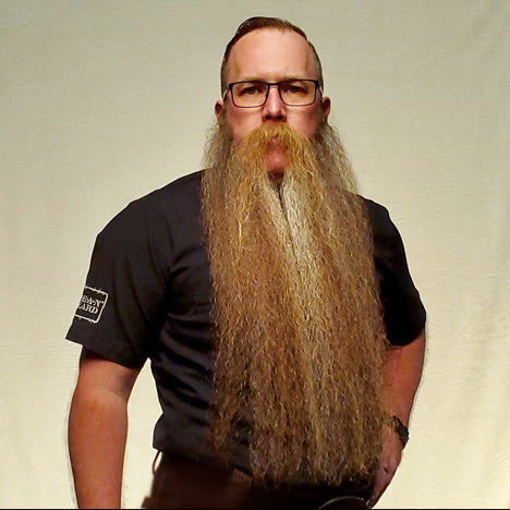 Judge Patrick Quinn 2019 MEANest BEARD Worldwide Contest by MEAN BEARD